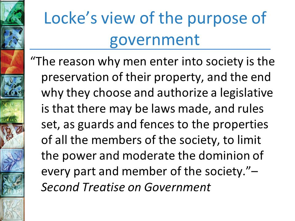 government and the views of hobbs and locke For locke and hobbes, they disagree on almost every characteristic of man in the state of nature and differ even more on the reasons as to why we form societythere are a few concepts which both theorists touch on but have different views such as: the main goal of man/government, what the environment is like in the state of nature, how man is .