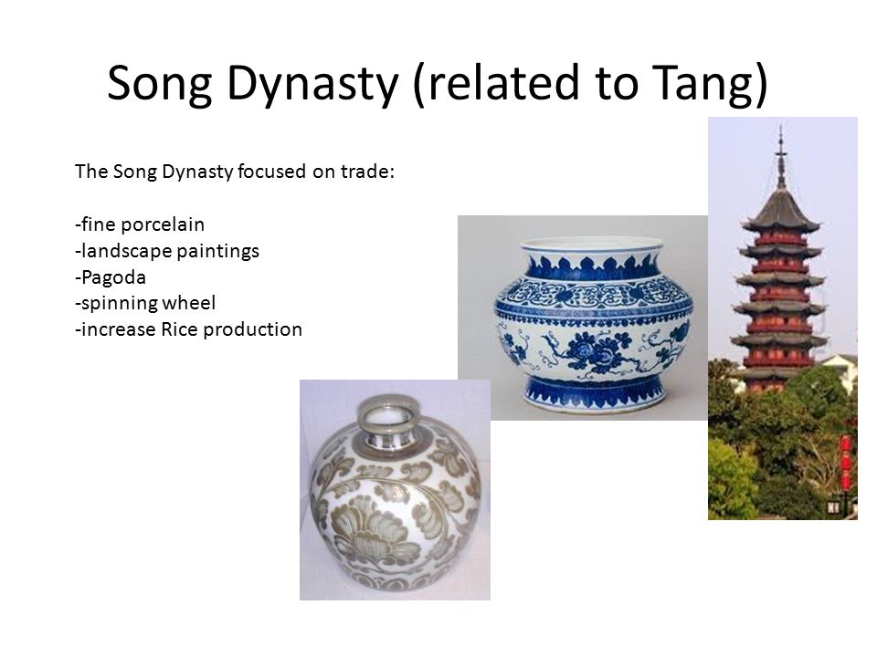 Song Dynasty (related to Tang)