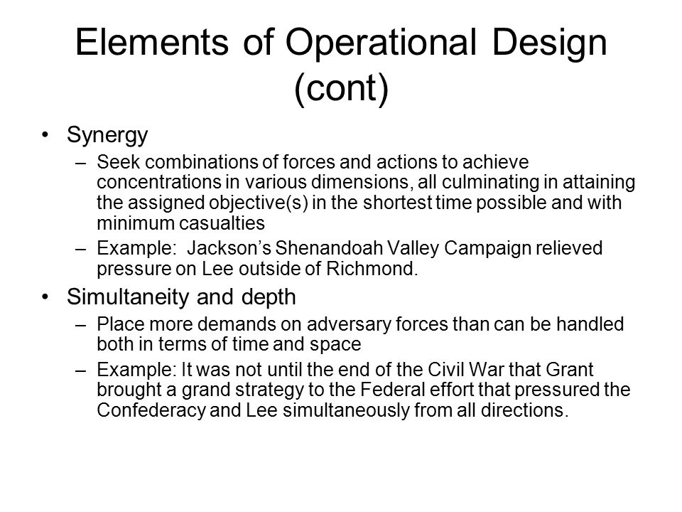 Elements Of Design Direction : Military theory lsn and ppt video online download