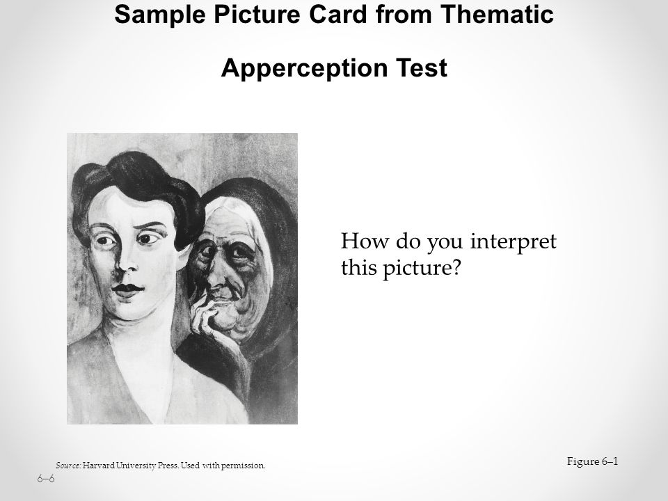 Sample Picture Card from Thematic Apperception Test