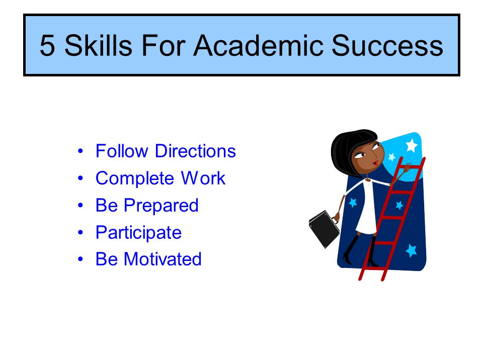 5 Skills For Academic Success