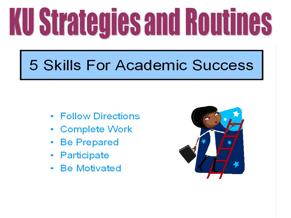 KU Strategies and Routines