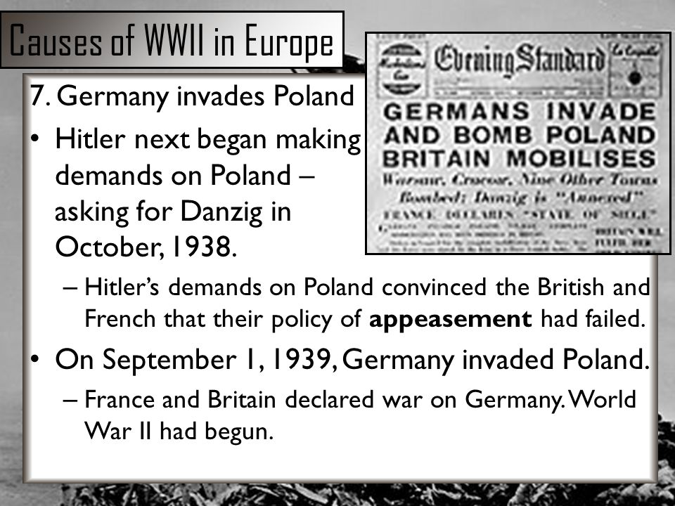 reasons for the failure of germany in world war ii essay Free essay: reasons for the failure of the weimar republic the period of german history from 1919 to 1933 is known as the weimarrepublic  until after world war ii.
