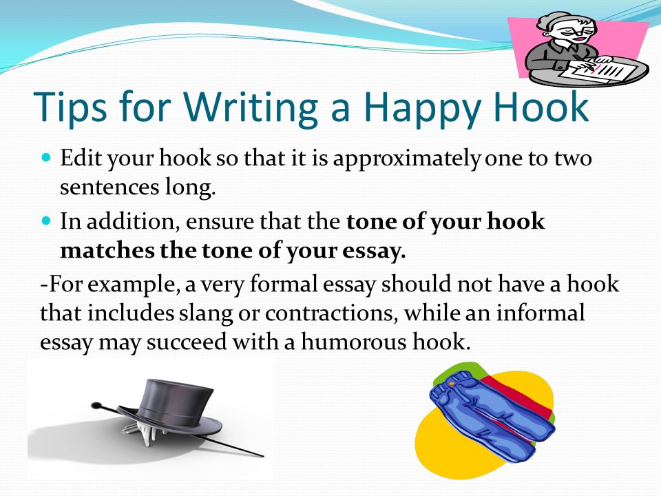 Good hooks for essays