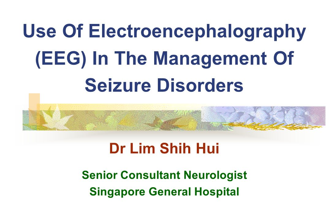 Senior Consultant Neurologist Singapore General Hospital