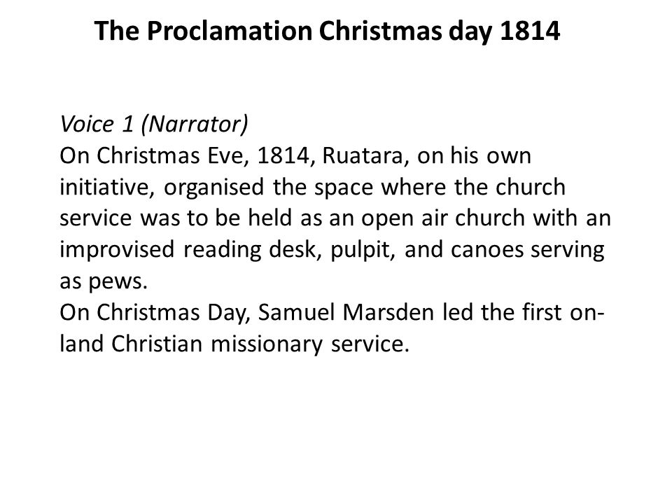 Remembering 200 years of the Gospel in New Zealand and Jesus Birth ...