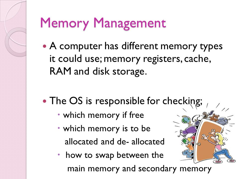 relationship between cache memory and main function