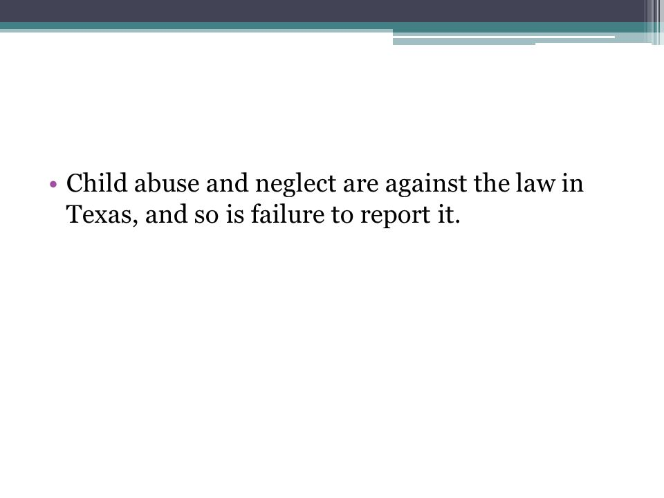 report child abuse texas