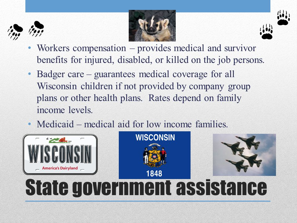 State government assistance