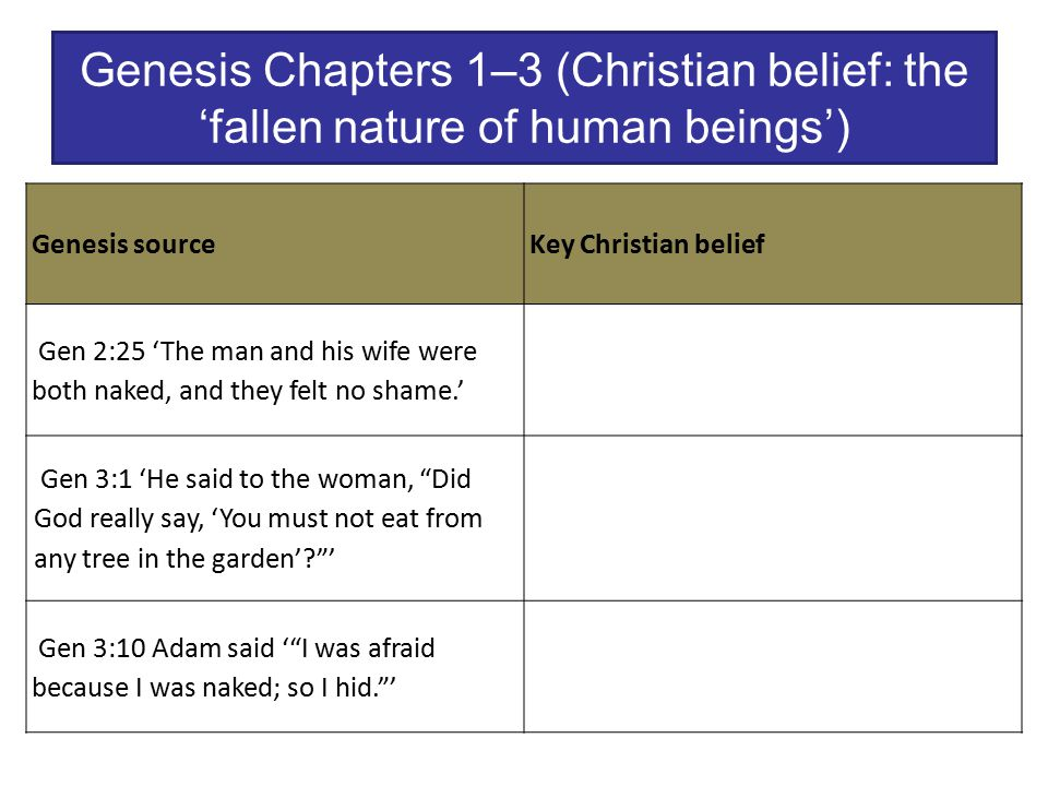 essay on genesis chapter 1 Get an answer for 'compare and contrast the two biblical creation stories in genesis 1 and genesis 2' and find homework help for other the bible questions at enotes.
