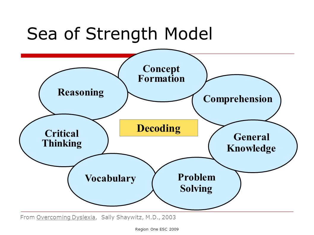 Sea of Strength Model Decoding Concept Formation Reasoning