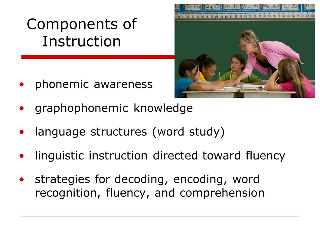 Components of Instruction