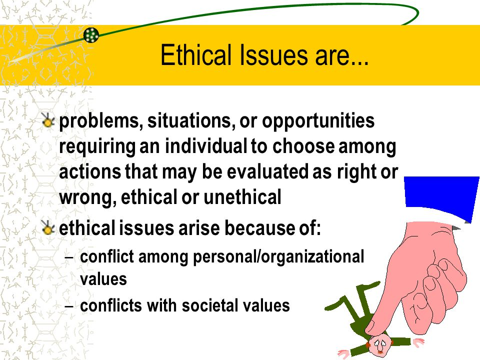 ethical issues Health care professionals practice in an environment that is complex, with many regulations, laws and standards of practice performing an abortion is legal but may not be considered ethical by other health care professionals or members of.