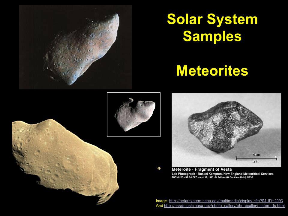 metorites solar system - photo #41