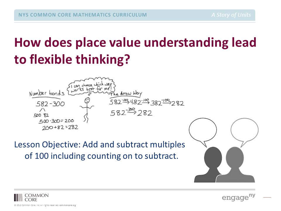 How does place value understanding lead to flexible thinking