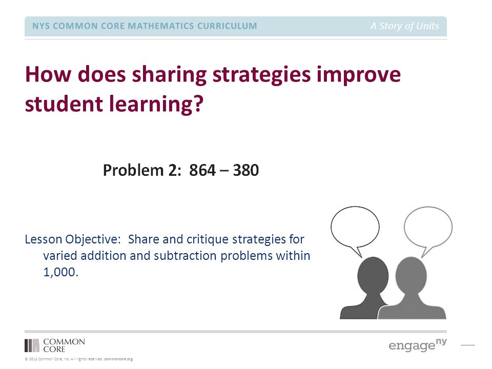 How does sharing strategies improve student learning