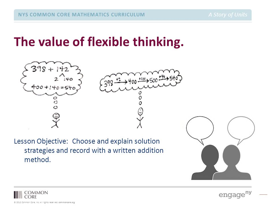 The value of flexible thinking.