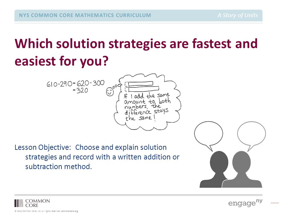 Which solution strategies are fastest and easiest for you