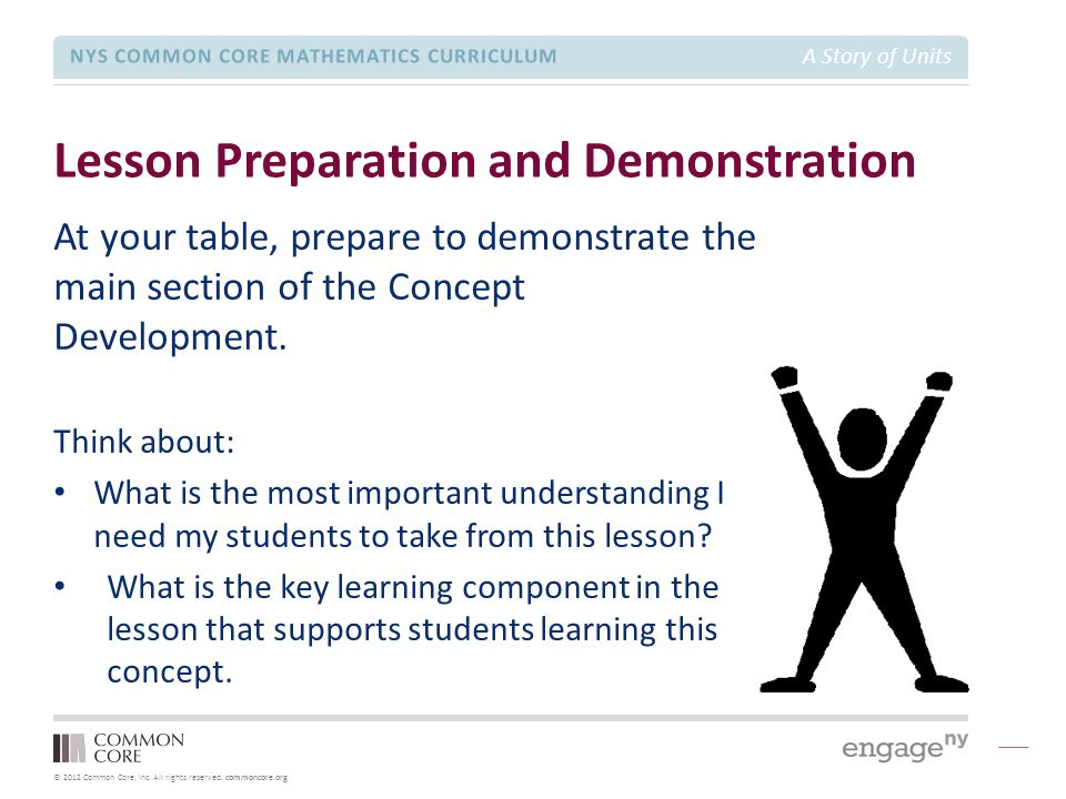 Lesson Preparation and Demonstration