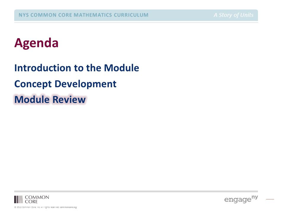 Grade 2 – Module 5 Module Focus Session