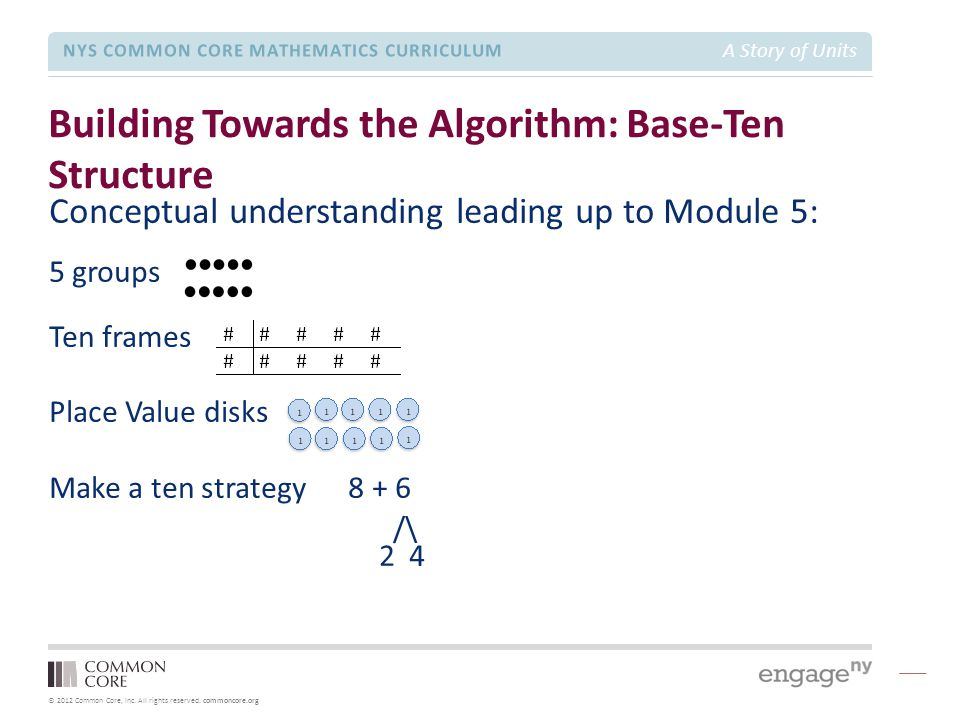 Building Towards the Algorithm: Base-Ten Structure