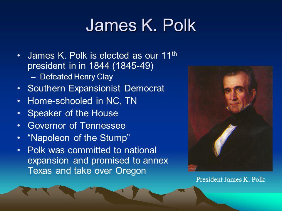 expansionism under james k polk