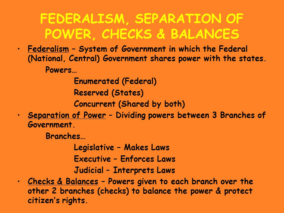 "the separation of powers and checks Explore the history and importance of the separation of powers in this  that  illustrates the ways the branches of government ""check"" each other's power."