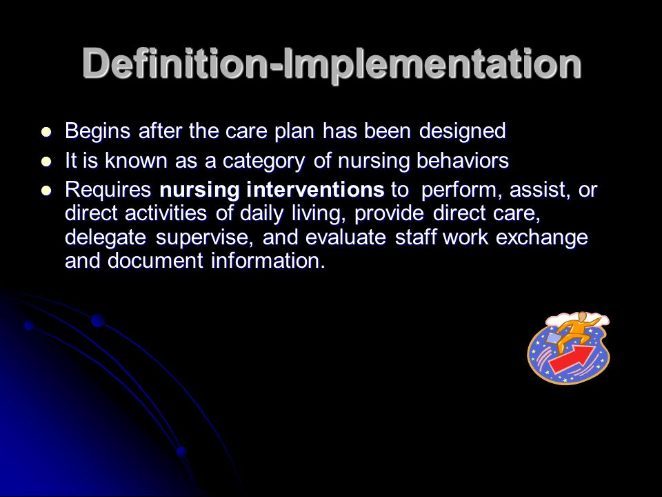 Definition-Implementation