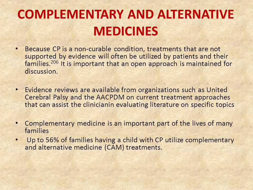 complementary and alternative medicines Complementary and alternative medicine is a group of diverse medical and health care systems, practices, and products that are not generally considered part of conventional medicine complementary and alternative medicine and whole health - multiple sclerosis centers of excellence.