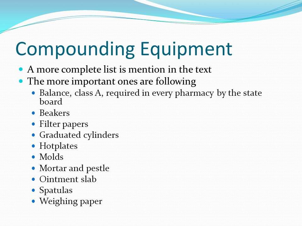 Introduction To Compounding Ppt Download