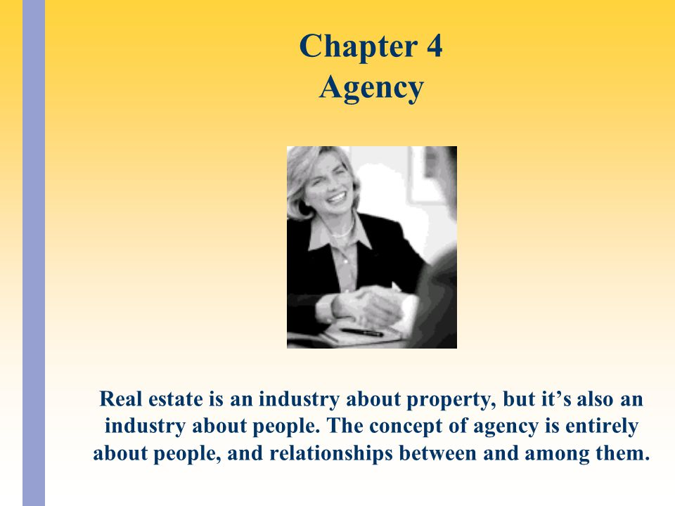 Chapter 4 Agency