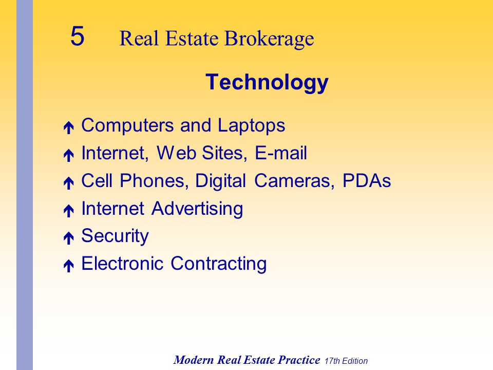 5 Real Estate Brokerage Technology Computers and Laptops