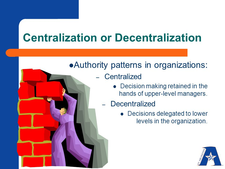 Centralized Vs. Decentralized Organizational Design