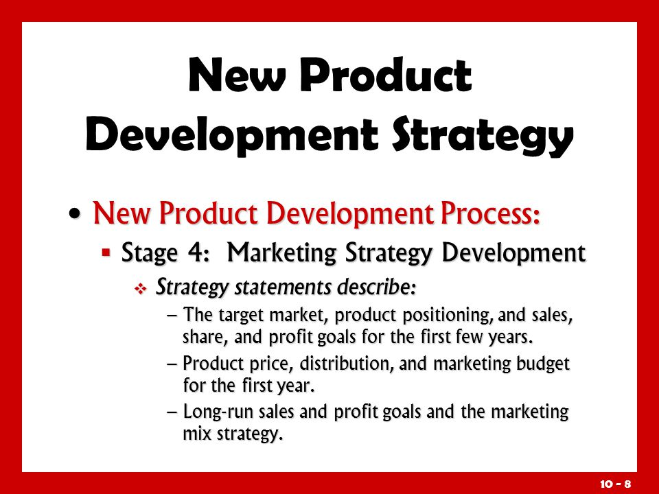 Objectives understand how companies find and develop new for New product design and development