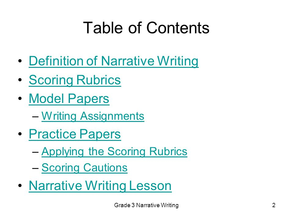 grade 3 narrative writing English language arts standards » writing » grade 3 » 3 print this page write narratives to develop real or imagined experiences or events using effective technique, descriptive details, and clear event sequences kindergarten-grade 12 introduction key design consideration students who are college and career.
