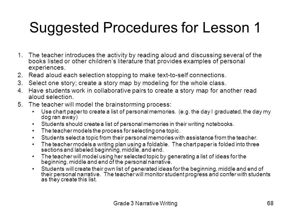 Collaborative Classroom Procedures ~ Grade writing assessment ppt download