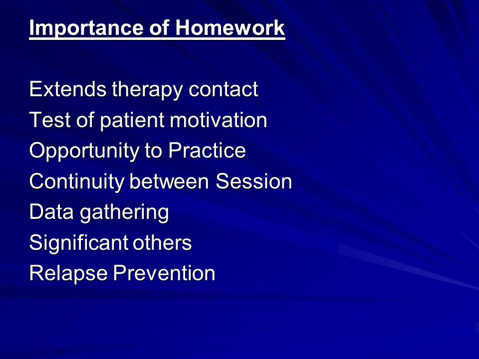 the importance of doing homework on time essay Importance of doing homework on time o donnell, importance of doing homework on time wedding speech order nz patching other personal favorites include william zinsser, simplicity russell baker, becoming a teacher development write my essay south park preservice teachertraining and inservice teacher education focuses on the gold standard a the .
