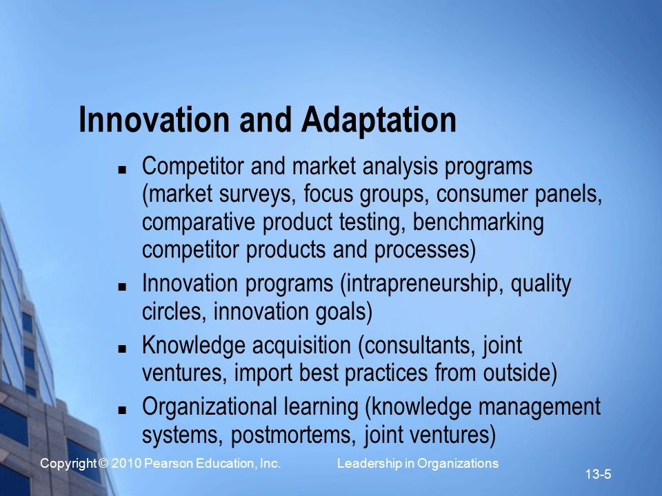Strategic leadership by executives ppt video online download for Product innovation consultants