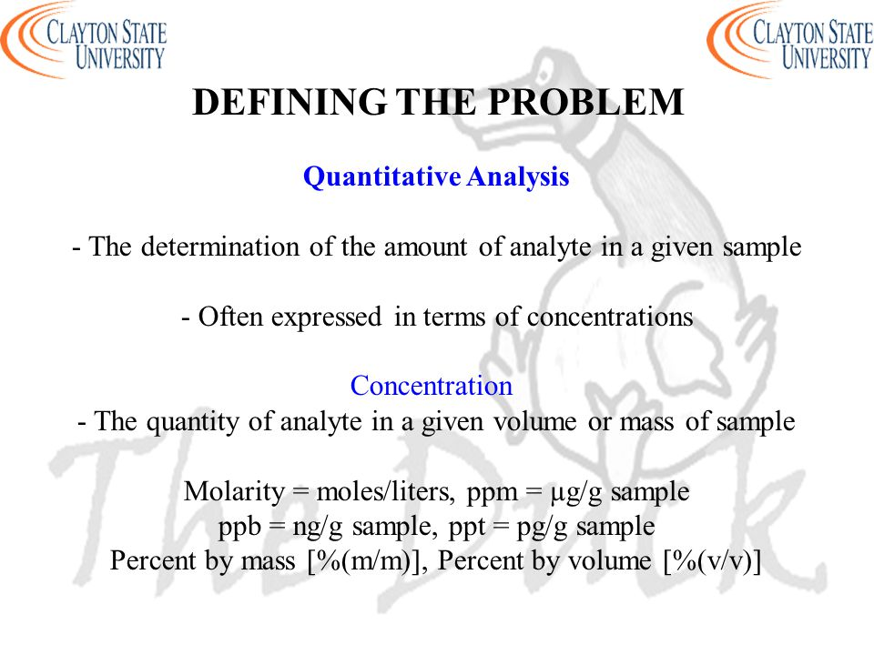 Instrumental Analysis Chem Ppt Download