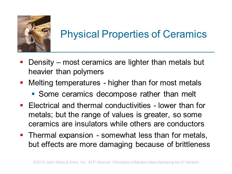 ceramics structure and properties of ceramics traditional