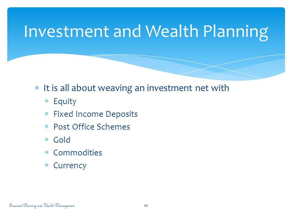 fix investment and monetary investments essay