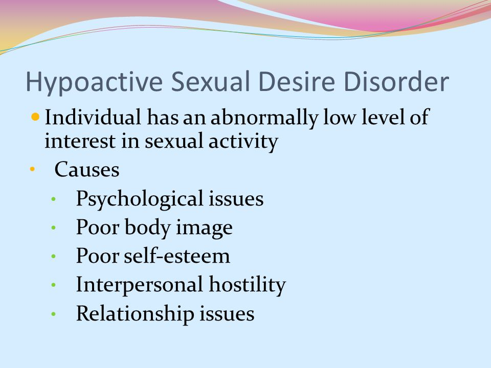 female sexual dysfunction - Mayo Clinic