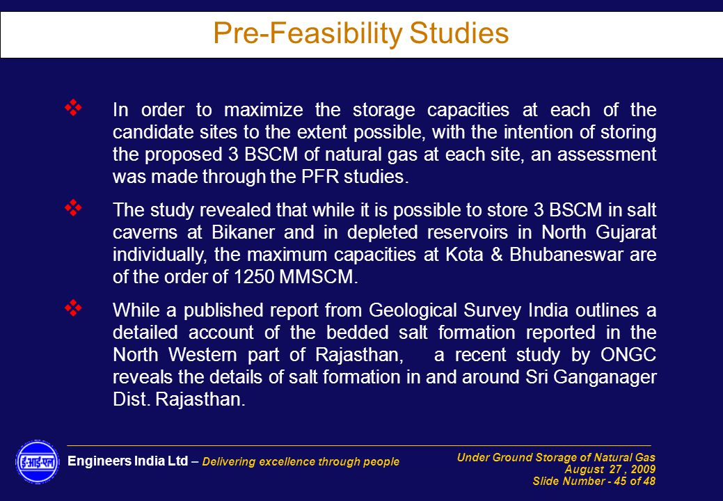 Cng feasibility study