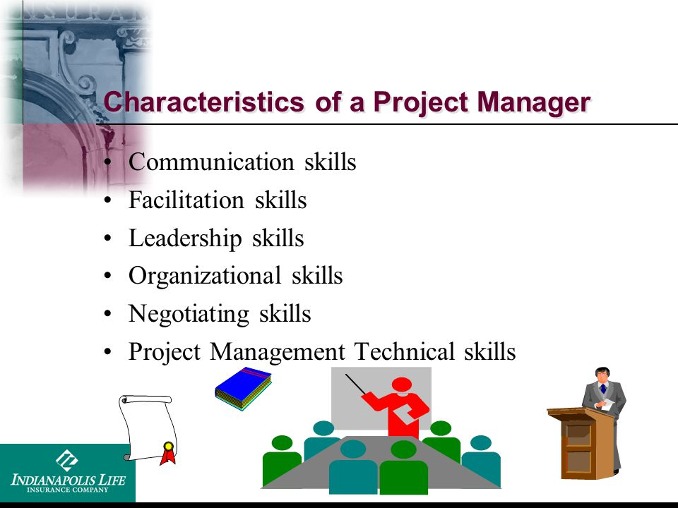 Characteristics of a Project Manager