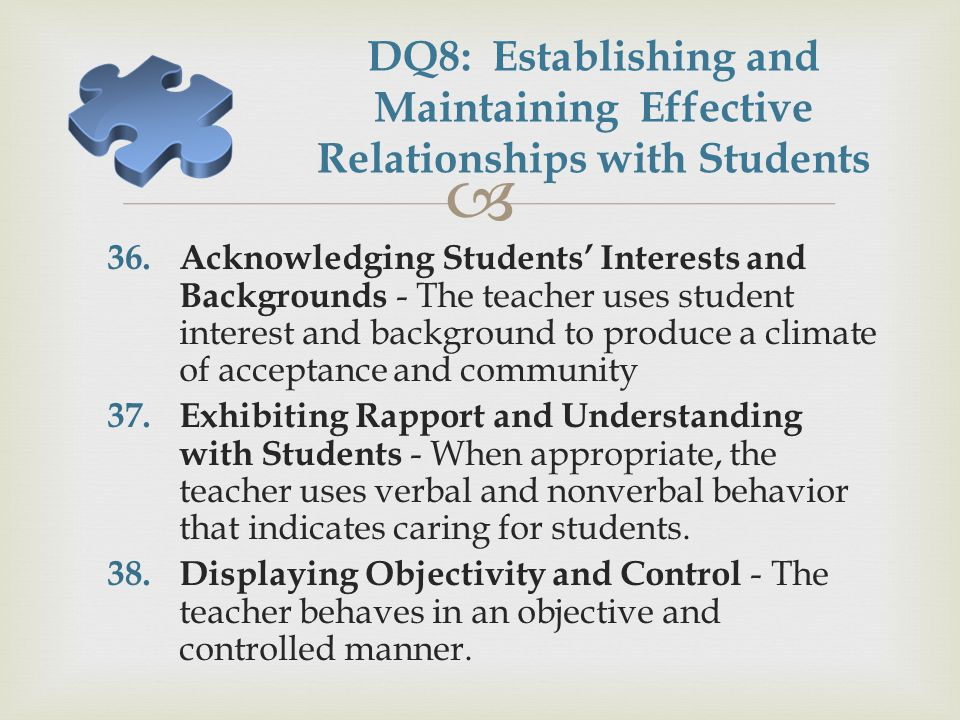 how to build relationships with difficult students