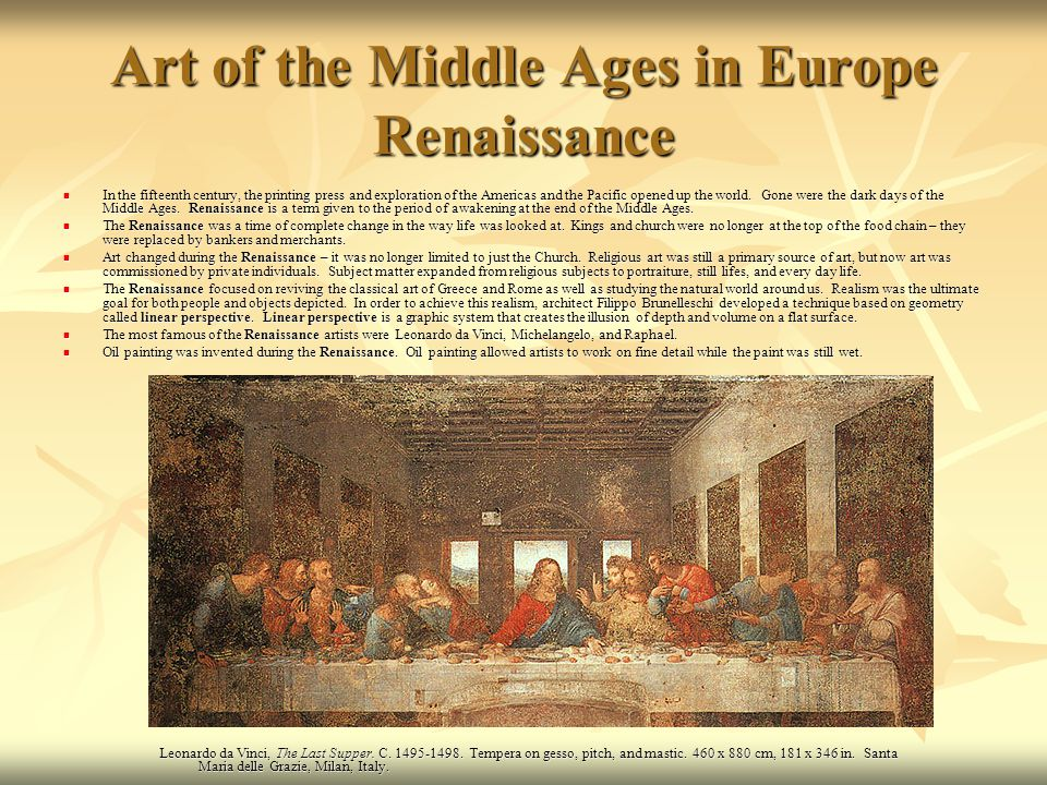 education during middle ages and renaissance in europe