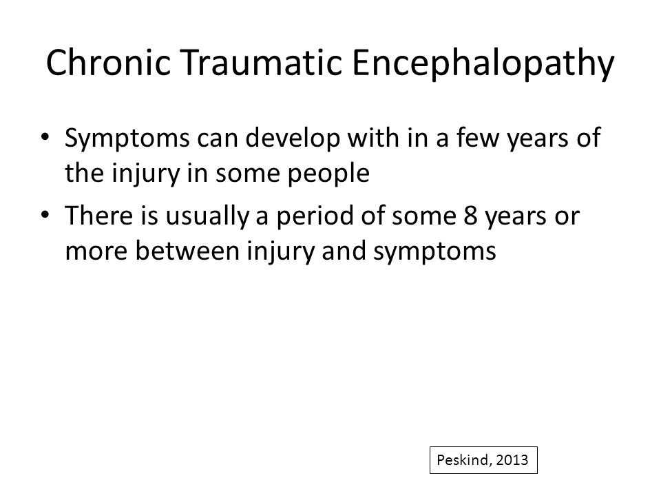chronic traumatic encephalopathy Boston university's chronic traumatic encephalopathy (cte) center conducts high-impact, innovative research on chronic traumatic encephalopathy and other long-term consequences of repetitive brain trauma in athletes and military personnel.