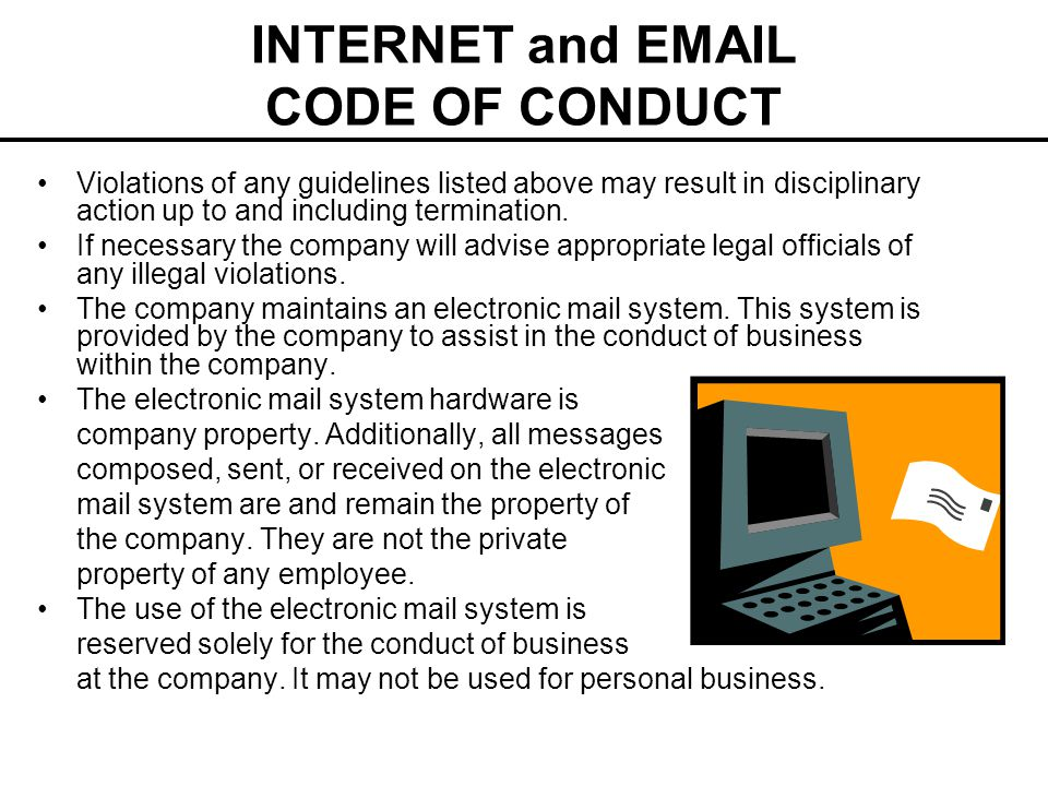 Electronic industry code of conduct