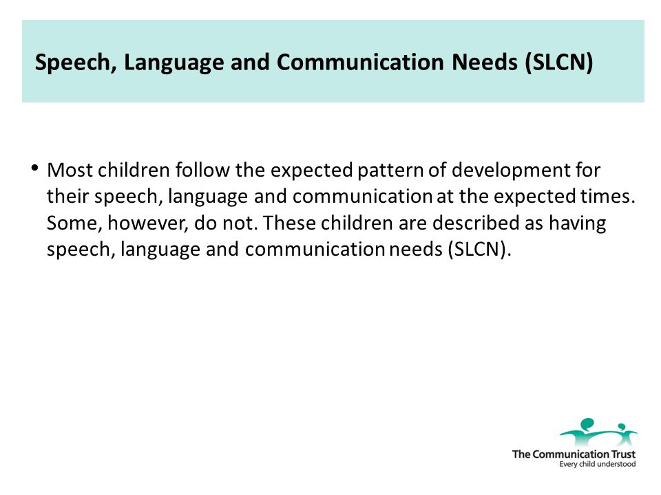 importance of the environment in supporting speech language and communication development Supporting children and young people's speech, language and 31 explain the importance of the environment can support communication development for.