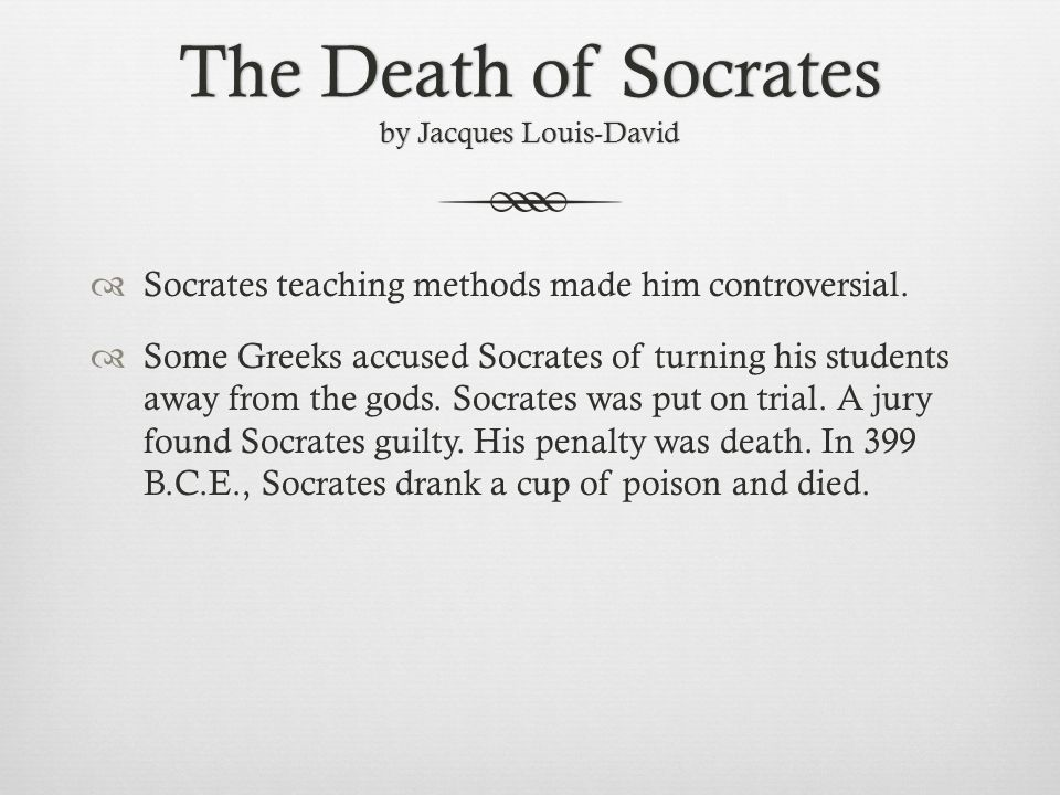 an overview of the socrates guilt in the ancient greece Find out more about the history of socrates, including videos, interesting articles indeed, nearly every school of ancient greek and roman philosophy.